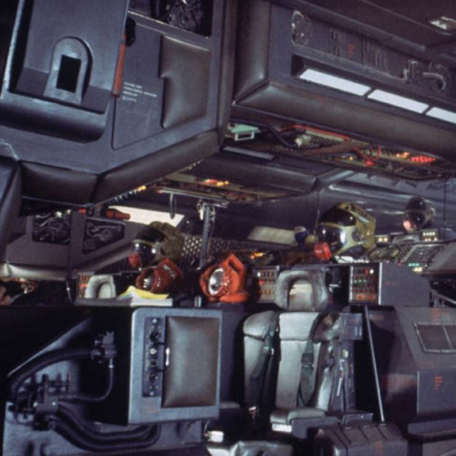 Computers and interior design of the Nostromo
